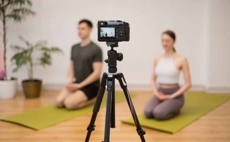 Yoga für Anfänger auf YouTube