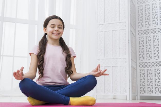 Yoga Übung für Kinder